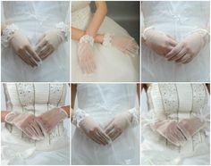 2013 Wedding Dress Trend: Illusion Sleeves, Cuffs & Gloves