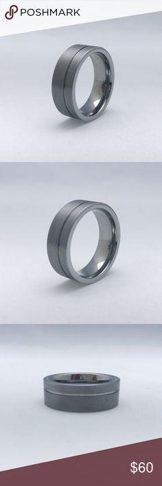 Tungsten Carbide Band Tungsten Carbide Band, 8mm Accessories Jewelry