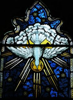 Stained Glass Window. #dove