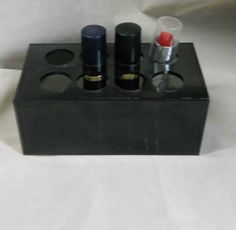 Laser Cut Smoke Acyrlic Lipstick Organizer by CharmingtheSouth, $5.99