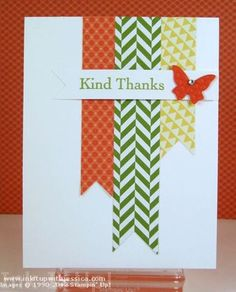 card from scraps of paper