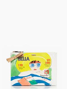 via limoni large bella pouch