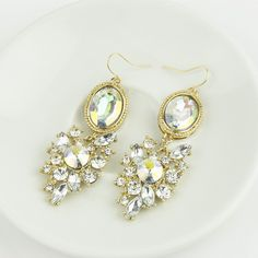 Hot-Elegant-Women-Vintage-Style-Fashion-Rhinestone-Dangle-Stud-Earrings-1-Pair