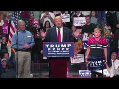 """Donald Trump """"I would give EVERY PENNY I OWN if I could Bring Back Riley"""" (11-4-16) - YouTube"""