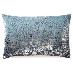 Check out this item at One Kings Lane! Motif 12x18 Velvet Pillow, Dusk