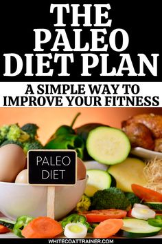 Most people can agree that some diets are just way too complicated. Some require you to meticulously count calories, while others ask you to eat according to your blood type. Often times, it can get downright confusing as to what you can eat and when you can eat it. Well, I have some good news. The Paleo Diet Plan is probably the simplest way to eat clean and improve your fitness. #paleodiet #paleodietplan #easydietplan Paleo Diet Food List, Paleo Diet Plan, Easy Diet Plan, How To Eat Paleo, Nutritious Meals, Healthy Fats, Workout For Beginners, Workout Tips, Paleo Shopping List