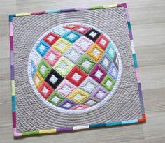 Modern Miniature Quilt by geta.grama, via Flickr - aaaaah!!!  way too cool!