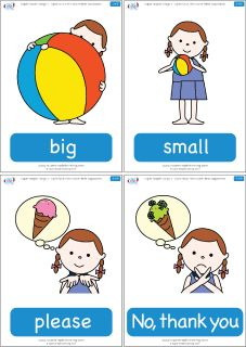 "Practice opposites with flashcards for the Super Simple Learning version of ""Open Shut Them."" #preK #Kindergarten #ESL"