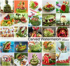 Carved-Watermelon-Ideas-1.jpg (2400×2281)