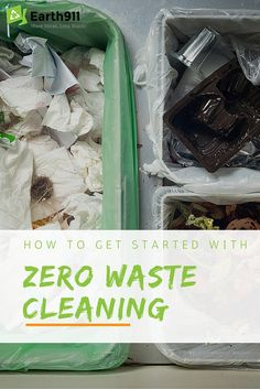 Ready to start cleaning your home without producing any waste? Check out this awesome guide to help you get started.