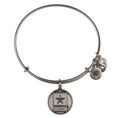 U.S. Army Expandable Wire Bangle - Russian Silver - Bracelets    To Support my brother!