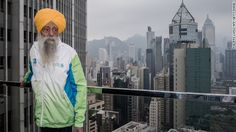 "Fauja Singh is recognized as the first 100-year-old to ever run a marathon. The great-grandfather, now 103, continues to run or walk every day. Nicknamed the ""Turbaned Tornado,"" he took up running to overcome his grief after the death of his wife and a son. He ran his first marathon at age 89. The key to life: ""Laughter and happiness,"" he says. ""That's your remedy for everything.""  http://cnn.it/1lTS0YQ"