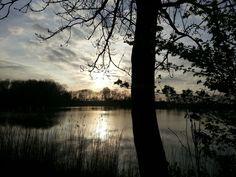 Zonsondergang in hensbroek♥