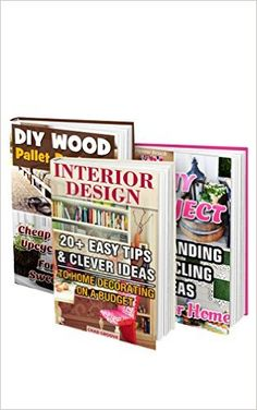 DIY Projects BOX SET 3 IN 60 Easy Tips & Clever Ideas For Your Home: (DIY projects, DIY household hacks, DIY projects for your home, Simple house hacks, DIY decoration and design) by Chad Groove Chic Master Bedroom, Diy Home Decor Bedroom, Diy Home Decor On A Budget, Decorating On A Budget, Diy Crafts For Teen Girls, Diy For Kids, Easy Diy Crafts, Diy Crafts To Sell, Fancy