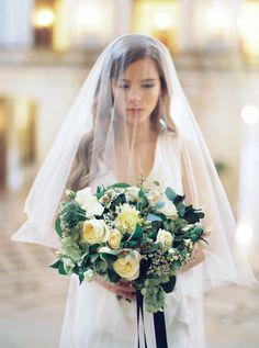 Dress: Carol Hannah Winchester | Photography: Lara Lam | Floral Design: Bowerbird Atelier