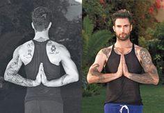 ohmyadam. I need to do more yoga.
