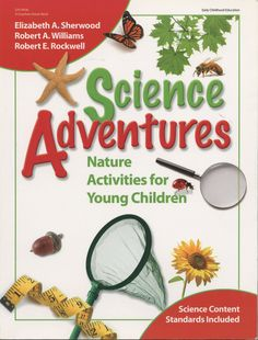 With more than 125 activities, Science Adventures will open up a world of exploration through nature activities in urban, suburban, or rural settings. From Big Step Measuring and Rocks That Write to the Ant Restaurant and How Far Can You Squeeze a Squirt?, the engaging activities in Science Adventures make exploring the environment fun and easy! Please click on product image to order.