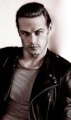 Sam Heughan from Outlander…