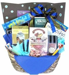 Book gift basket gift ideas pinterest gift basket ideas and the ultimate birthday book gift basket awesome birthday gift for a reader negle Choice Image