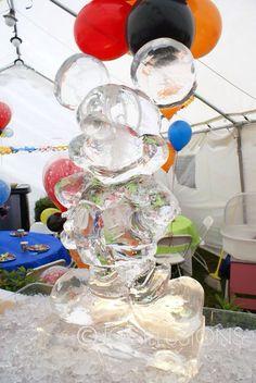 Mickey ice sculpture  ~ Ʀεƥɪאאεð вƴ ╭•⊰✿ © Ʀσxʌאʌ Ƭʌאʌ ✿⊱•╮