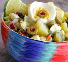 Potato salads of the world - Yucatan Potato Salad