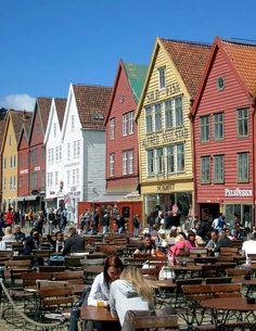 Bergen - Bryggen, Norway   by KerstinKoch