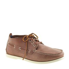 J.Crew - Sperry Top-Sider® for J.Crew chukkas My daily school uniform....