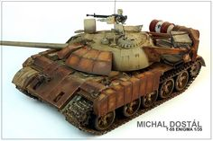 T-55 Enigma 1/35 by Michal Dostal