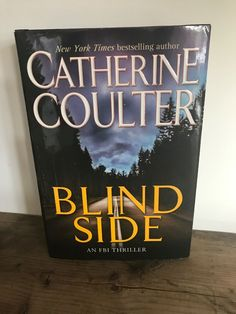 FBI Thriller: Blindside No. 8 by Catherine Coulter Hardcover) for sale online Fiction Novels, Bestselling Author, Thriller, Community, Book, Ebay, Books, Book Illustrations, Libros
