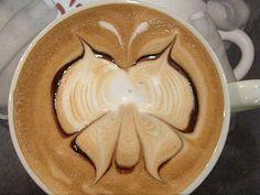 coffee butterfly