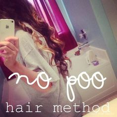 No (sham)Poo Hair Method and why you should try it