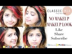 ♥♥ No Makeup Makeup Look | Classic Mia ♥♥ - YouTube
