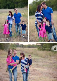 Excellent example of a casual family look! Arden Prucha Photography