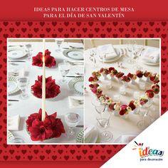 Centros de mesa a la altura de una noche romántica #Amor