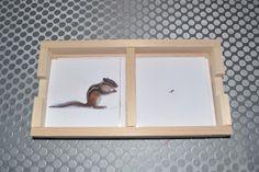 ma petite fabrique montessori: cartes à la loupe