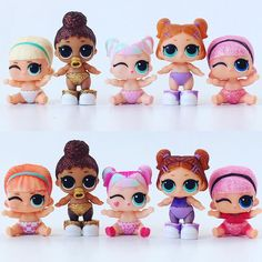 Let's play a game of spot the difference . Baby Girl Toys, Toys For Girls, Cute Kids, Cute Babies, Monster High Birthday, Kids Makeup, Barbie Party, Pop Dolls, Unicorn Birthday Parties
