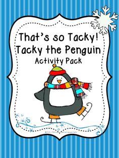 Creative Lesson Cafe: Tacky the Penguin and a Tacky Freebie