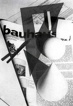 Laszlo Moholy-Nagy, cover for Bauhaus magazine, 1928.