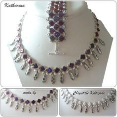 by Chrystelle Kiltejade, pattern by Passion Bijoux
