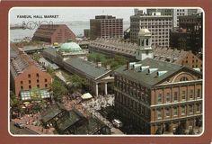 Faneuil Hall Marketplace & the Marriott Hotel, Boston, Massachusetts, USA