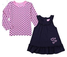 Gorgeous baby girl set in Navy & Pink.. check out www.babybellandco.com
