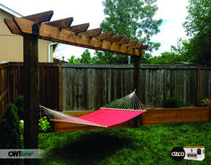 Building a Corner Pergola is the perfect way to utilize a corner of your garden where a regular pergola would not fit and add a stylish touch to it. Enjoy the satisfaction of effortlessly building your own pergola in almost no time. Diy Pergola, Corner Pergola, Outdoor Pergola, Wooden Pergola, Pergola Kits, Outdoor Decor, Pergola Ideas, Pergola Curtains, Pergola Cover