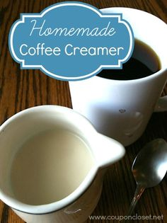 "E- Have you ever had one of those mornings when, in your half asleep state, you reach for the creamer and realize you are out?! Seriously! Sure, you might say, ""Just put some milk in it"", but I am just not a ""milk in my coffee"" kind of girl. I just like …"