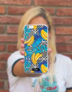 funda-movil-full-tropical-bananas-2 Bananas, Phone Cases, See Through, Tropical Prints, Mobile Cases, Banana, Fanny Pack, Phone Case