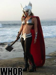 WHORE, THE SLUT OF THOR