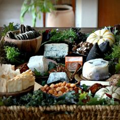 Tips and Treats for a Halloween Cheese Basket