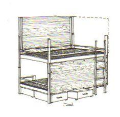 Bunk Bed Rooms, Bunk Beds, Ikea Bunk Bed, Room Divider Ideas Bedroom, Room Dividers Kids, Bed Divider, Sibling Bedroom, Loft Bed Plans, Shared Bedrooms