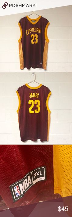 official photos 9928b a1952 NBA Lebron James Cleveland Cavaliers Jersey 👉Perfect Condition 👉No Flaws  With It At All