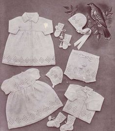 Lullaby babylayette with free knitting patterns. This pattern has been modernised and charts have been added.  #knitting  #FreeKnittingPatterns