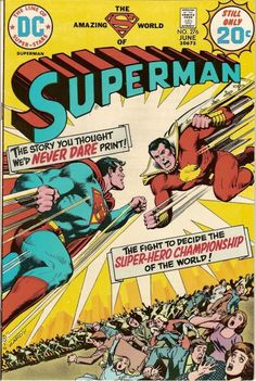"Superman vs. Captain Marvel? Not quite. DC owns the rights to the character and they still had to pussyfoot around him like a cartoon version of ""Lassie"" running that ""no animals were harmed"" disclaimer."
